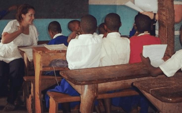 Teaching in Tanzania